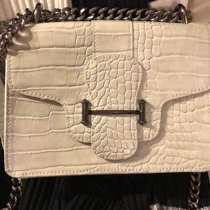 "Circus Sam Edelman 30""Crossbody chain grey purse"